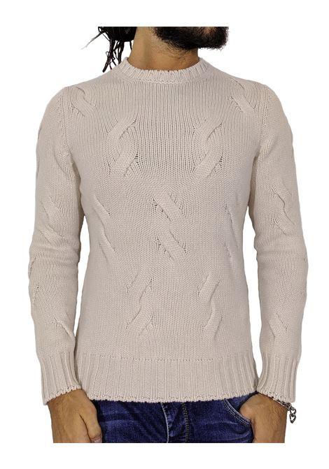 Maglione Gran Sasso cashmere lana bianco GRAN SASSO | Maglie | 1018819689113
