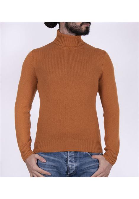 Orange Gran Sasso air wool turtleneck GRAN SASSO | Sweaters | 13126/22601358