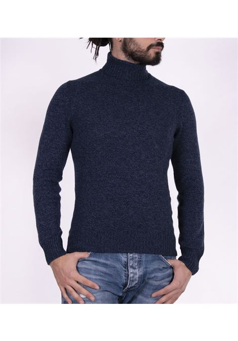 Gran Sasso air wool blue turtleneck GRAN SASSO | Sweaters | 13126/22601858