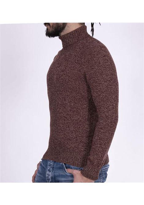 Gran sasso air wool bordeaux turtleneck GRAN SASSO | Sweaters | 1312622601857