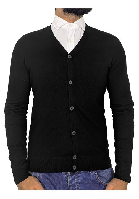Gran Sasso men's black cardigan GRAN SASSO |  | 54168/14190099