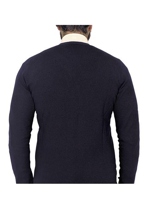 Cardigan uomo Gran Sasso blu GRAN SASSO | Cardigan | 54168/14190598