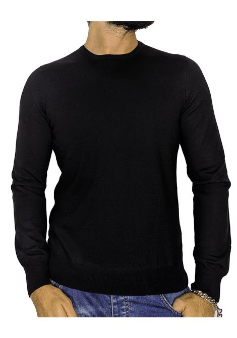Black wool pullover sweater GRAN SASSO |  | 55167/14290099