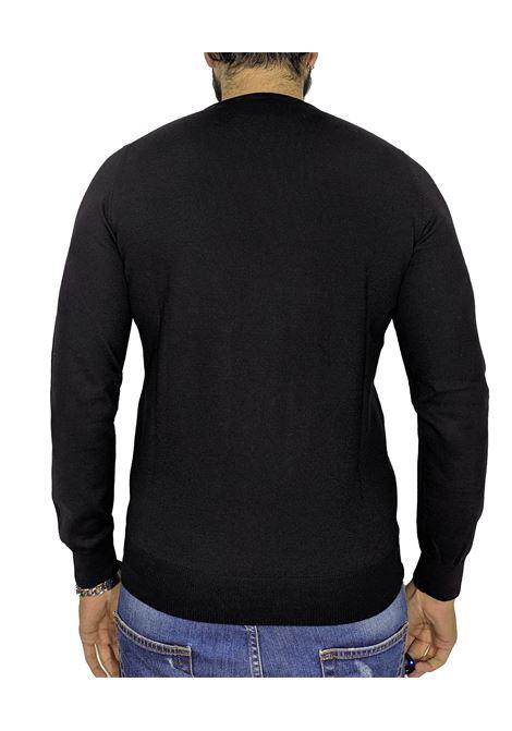 Black wool pullover sweater GRAN SASSO |  | 55167/14290099