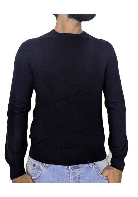wool round neck sweater blue GRAN SASSO |  | 55167/14290598