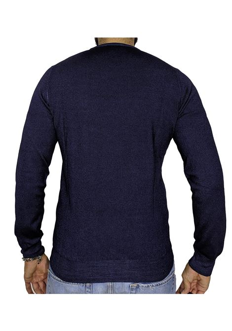 Maglia pullover vintage blu GRAN SASSO | Maglie | 55167/22792905