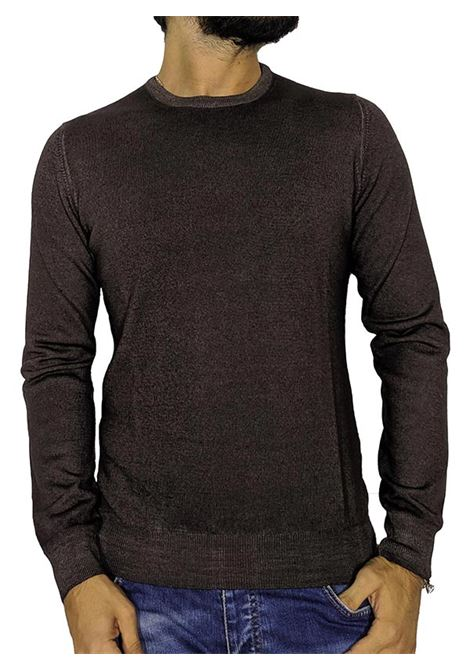 Brown vintage pullover sweater GRAN SASSO | Sweaters | 5516722792308