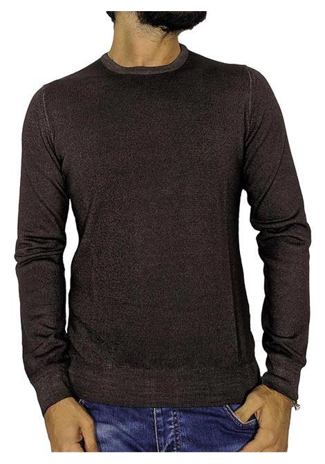 Maglia pullover vintage marrone GRAN SASSO | Maglie | 5516722792308
