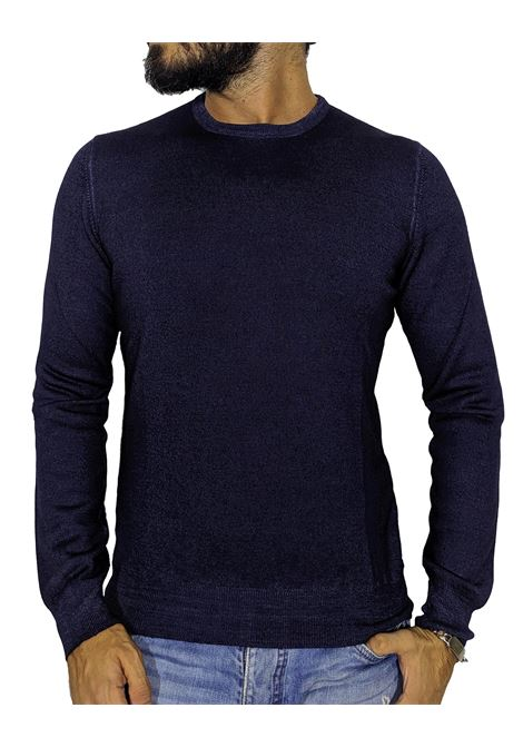 Vintage blue pullover sweater GRAN SASSO | Sweaters | 5516722792905