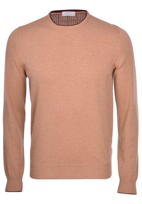 maglia gran sasso misto cashmere beige GRAN SASSO | Maglie | 55168 19625116