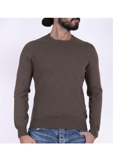 Maglia Gran Sasso cashmere marrone GRAN SASSO | Maglie | 55170/15590163
