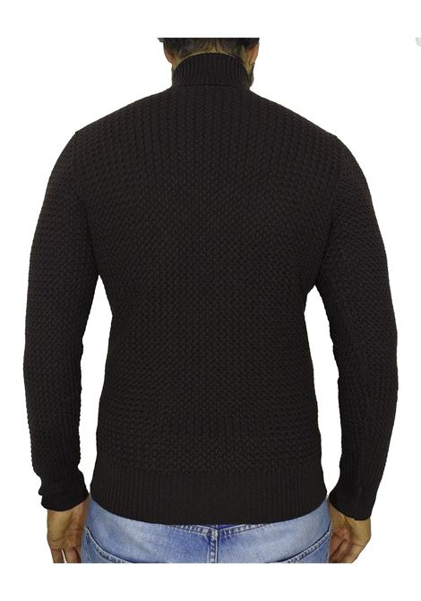 turtleneck gran sasso brown sweater GRAN SASSO | Sweaters | 57157/14280195