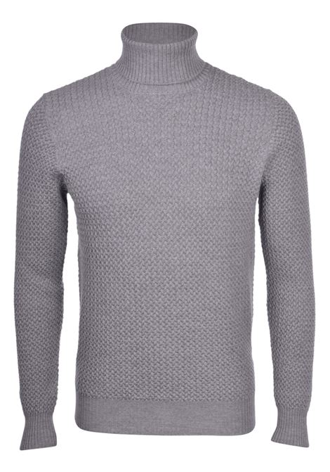turtleneck gran sasso gray sweater GRAN SASSO | Sweaters | 5715714280071