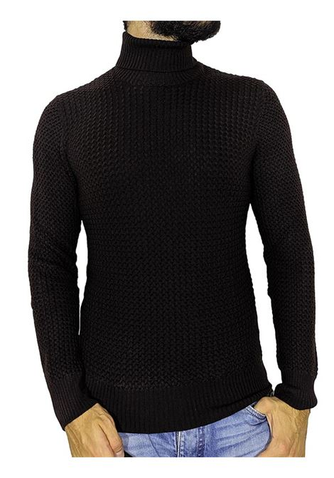 turtleneck gran sasso brown sweater GRAN SASSO | Sweaters | 5715714280195