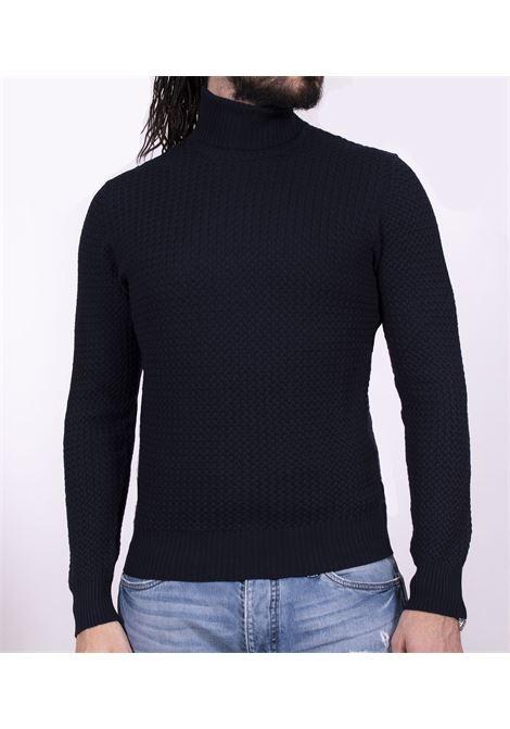 turtleneck gran sasso blue sweater GRAN SASSO | Sweaters | 5715714280598