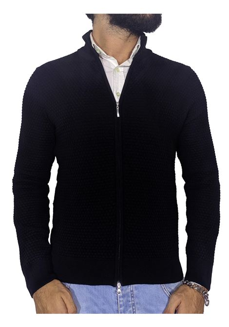 Zippered jacket sweater GRAN SASSO | Cardigans | 57178/14222598