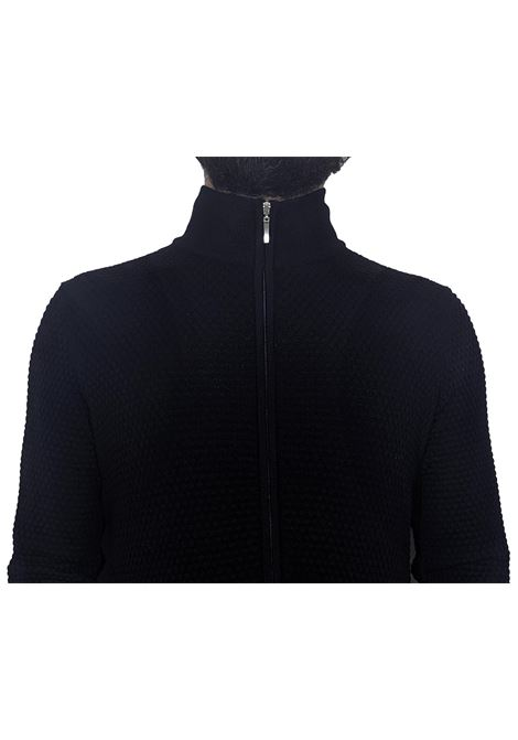 Zippered jacket sweater GRAN SASSO | Cardigans | 57178/14222598