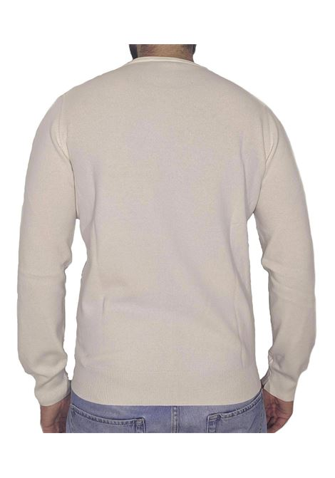 Cream wool cashmere pullover GRAN SASSO | Sweaters | 5911019681001