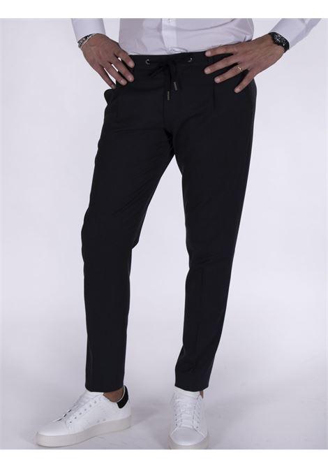 Pantalone Hosio chinos coulisse grigio HOSIO | Pantaloni | IUW20403P2036