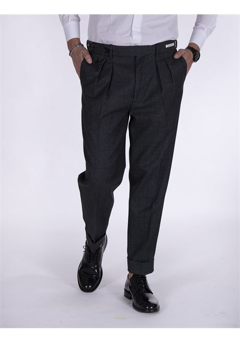 LBM 1911 trousers pinces gray strap L.B.M. 1911 by Lubiam | Trousers | 3054 81651