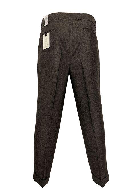 pantalone LBM 1911 largo marrone L.B.M. 1911 by Lubiam | Pantaloni | 3054 81652