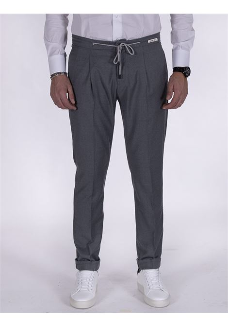 LBM 1911 gray drawstring trousers L.B.M. 1911 by Lubiam | Trousers | 4313 84071