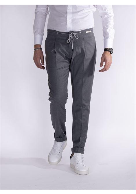 Pantalone LBM 1911 coulisse grigio L.B.M. 1911 by Lubiam | Pantaloni | 4313 84071