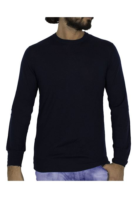 LBM 1911 thin blue wool sweater L.B.M. 1911 by Lubiam | Sweaters | 6350 95106