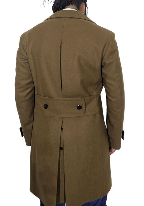 Camel lbm double-breasted coat L.B.M. 1911 by Lubiam |  | 7053 74894