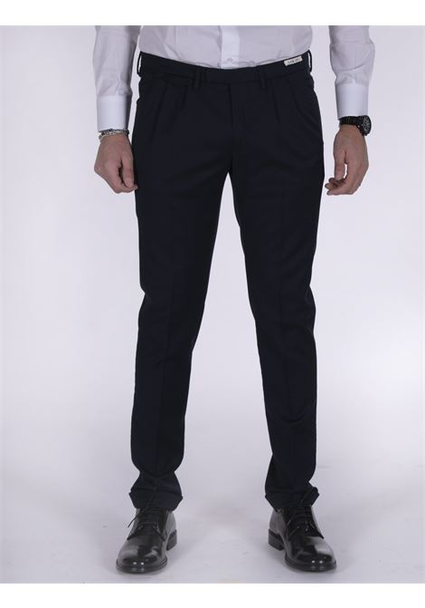 LBM 1911 trousers with blue cuffs L.B.M. 1911 by Lubiam | Trousers | 8448 43144