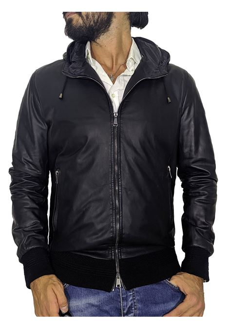 Lbm leather thermal jacket L.B.M. 1911 by Lubiam | Jackets | 9394 95078