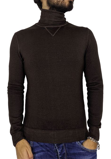 LBM 1911 brown turtleneck sweater L.B.M. 1911 by Lubiam | Sweaters | 9515 63517