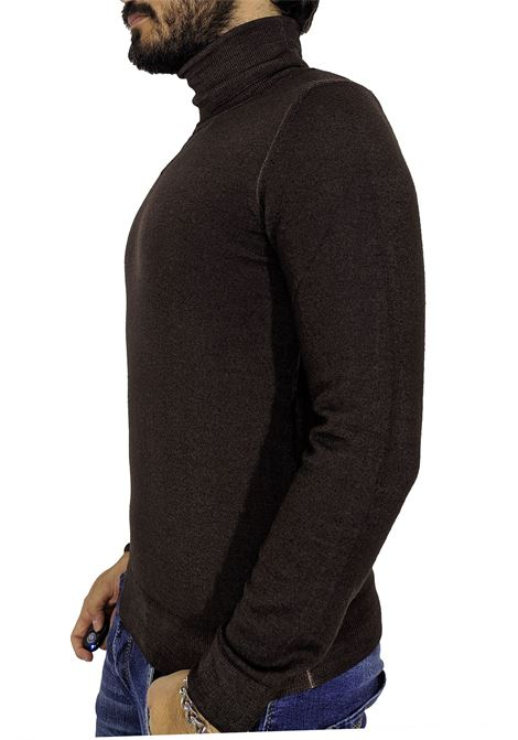 LBM 1911 brown turtleneck sweater L.B.M. 1911 by Lubiam   Sweaters   9515 63517