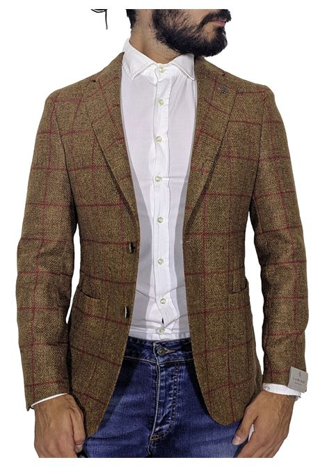 Scottish checked wool jacket LUBIAM | Blazers | 2175 20434