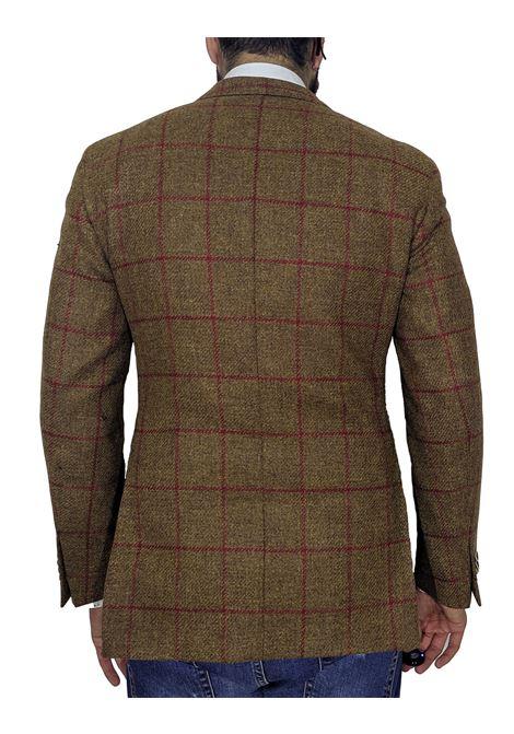 Giacca lana quadri scozia LUBIAM | Giacche | 2175 20434