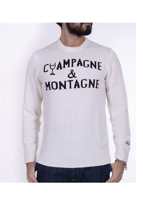 Maglia MC2 Saint Barth Champagne montagne bianco MC2 SAINT BARTH | Maglie | EMNC1616
