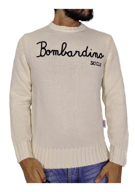 MC2 Saint Barth white bombardino sweater MC2 SAINT BARTH | Sweaters | EMSK1010