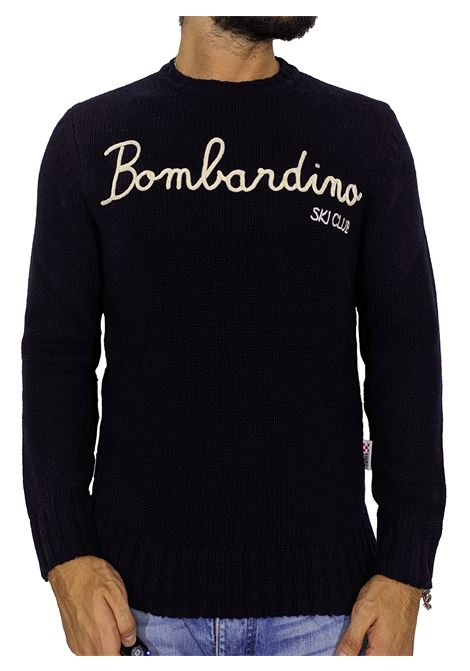 Maglione MC2 Saint Barth blu  bombardino MC2 SAINT BARTH | Maglie | EMSK6161