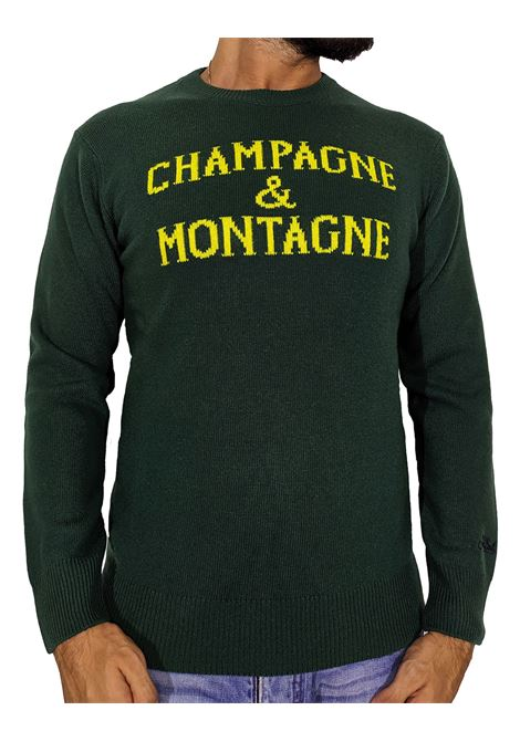 Pullover MC2 Saint Barth verde monchamp MC2 SAINT BARTH | Maglie | MNCH5959