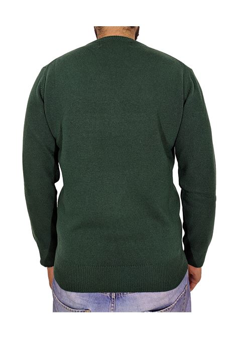 MC2 Saint Barth green monchamp pullover MC2 SAINT BARTH | Sweaters | MNCH5959