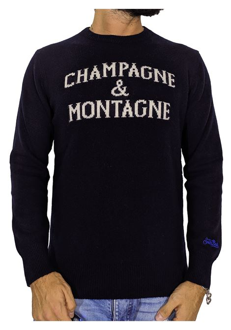 Maglia MC2 Saint Barth moncamp blu MC2 SAINT BARTH | Sweaters | MNCH6161
