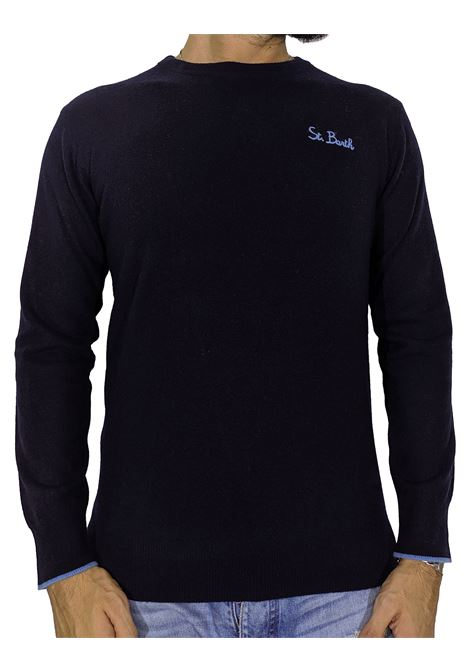 MC2 Saint Barth heron light blue sweater MC2 SAINT BARTH | Sweaters | SB61311