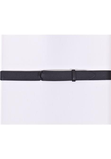 Orciani nobuckle black micron belt ORCIANI | NB003901