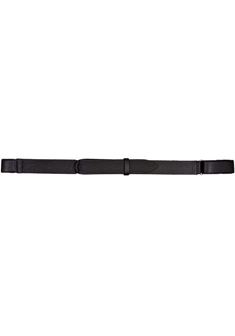 Orciani nobuckle black micron belt ORCIANI | Belts | NB003901