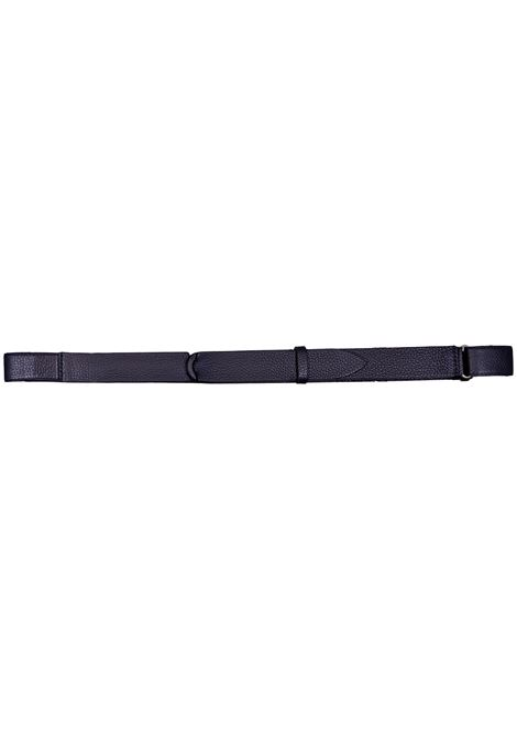 Orciani nobuckle blue micron belt ORCIANI   Belts   NB00392