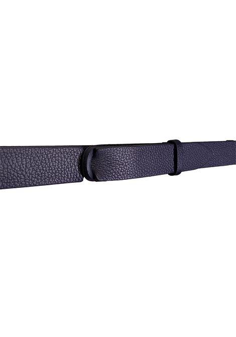 Cintura Orciani nobuckle micron blu ORCIANI | Cinture | NB00392