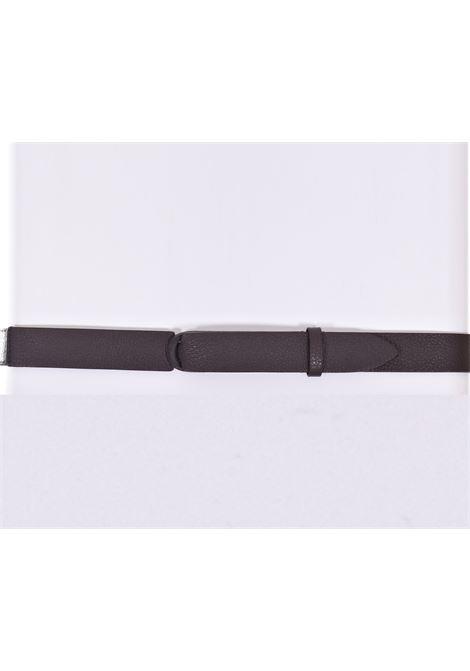 Orciani nobuckle ebony micron belt ORCIANI | Belts | NB00393
