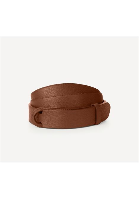 Orciani nobuckle brown micron belt ORCIANI | NB00394