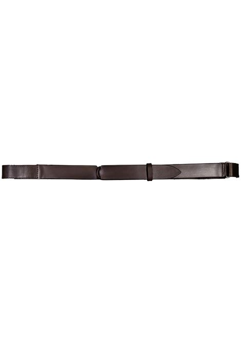 Orciani NoBuckle men's dark brown belt ORCIANI | Belts | NB0042