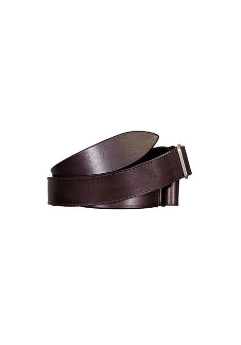 Orciani NoBuckle men's dark brown belt ORCIANI | Belts | NB0042
